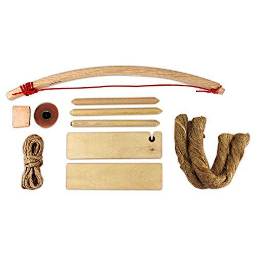 Deluxe Primitive Fire Bow Drill Kit