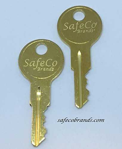 UWS ONLY UWS Toolbox Keys Code Cut Lock/Key Numbers From CH501 To CH510 Truck Tool Box Lock Key By Ordering These Keys You Are Stating You Are The Owner. (CH502) by UWS