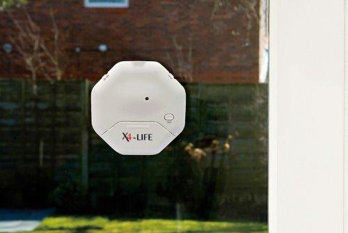X4-LIFE Security Glasbruch-Alarm Einbruch Abwehr Sicherheit