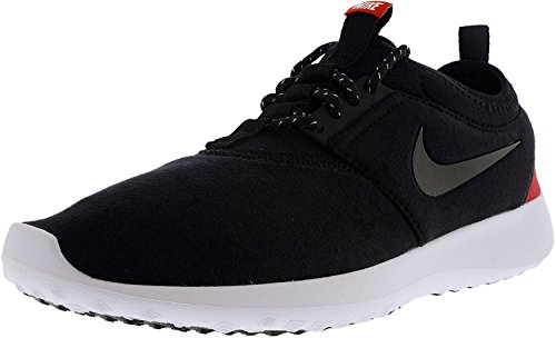 NIKE Women's Wmns Juvenate TP, Black/White-Chilling Red-White Schwarz