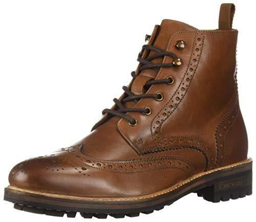 (Kenneth Cole New York Men's MARAQ Lug Boot Fashion, Cognac, 13 M US)