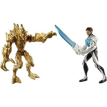 Amazon.com : Max Steel Turbo Sword Max vs. Exploding Earth Ele : Baby Toys : Baby