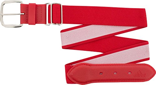 Adidas Youth Baseball Belt (Red, Youth)