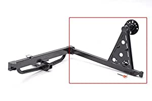 wilco offroad uhg1060 2 hitchgate classic tire mount offset tire mount gate only. Black Bedroom Furniture Sets. Home Design Ideas