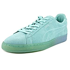 PUMA Men's Suede Emboss Iced Fashion Sneakers