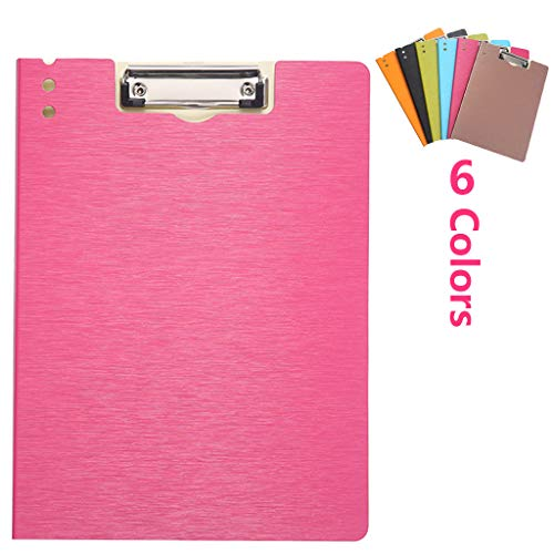 K-Flame A4 Slim Binder Office Supplies Stationery Expanding Coloured Lever Arch File Folder for Student 6 Colour,Pink,3223.5CM