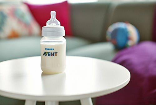 Large Product Image of Philips Avent Anti-colic  Baby Bottles Clear, 9oz 3 Piece