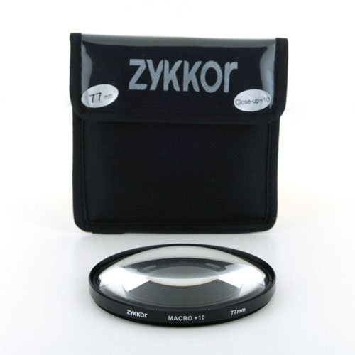 Large Zykkor Deluxe Professonal Filter Pouch for 4 Filters up to 77mm