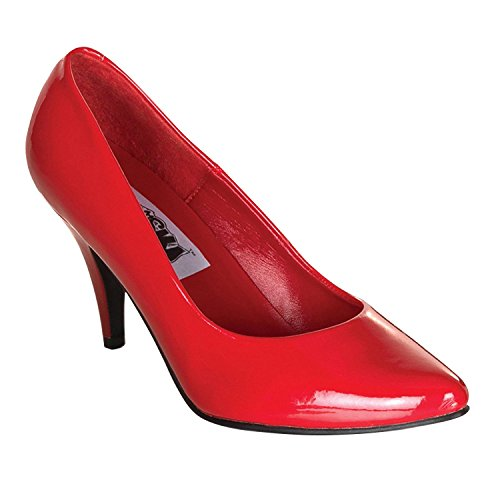 Funtasma PUMP-420 womens Pumps Shoes Red Pat cw2ATxNUIW