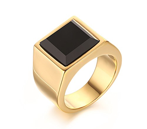 Mealguet Jewelry Plated Stainless Square product image