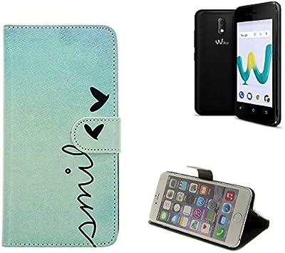 K-S-Trade 360° Funda Smartphone para Wiko Sunny 3 Mini, Smile ...