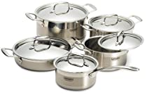 Concord 10 Piece Stainless Steel Cookware Set