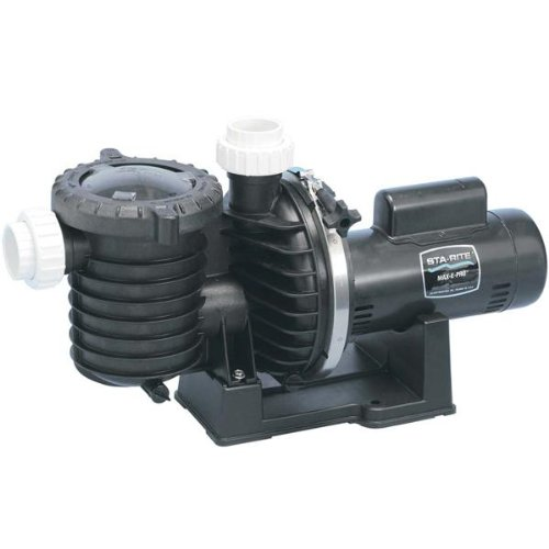 Pentair Sta-Rite P6RA6E-205L Max-E-Pro Standard Efficiency Single Speed Up Rated Pool and Spa Pump, 1 HP, 115/230-Volt by Pentair