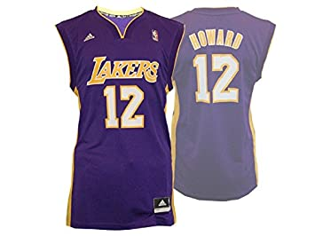 Adidas LA Lakers # 12 Dwight Howard Camiseta/NBA Réplica Jersey, Color, tamaño