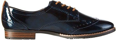 Softline 23260, Zapatos de Vestir para Mujer Azul (NAVY MET. PAT. 801)