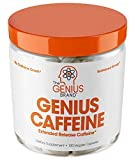 Best Caffeine Pills - Genius Caffeine - Extended Release Microencapsulated Caffeine, All-Natural Review