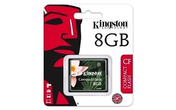 Kingston CF//16GB-U2 Tarjeta de Memoria CompactFlash Ultimate de 16 GB 266x