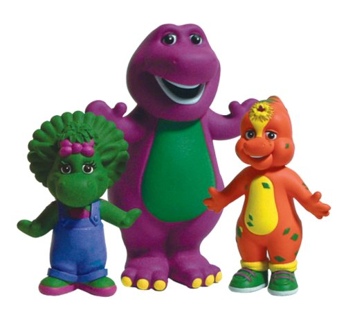 Barney Collectables In Tube Barney Riff Baby Bop Amazoncouk