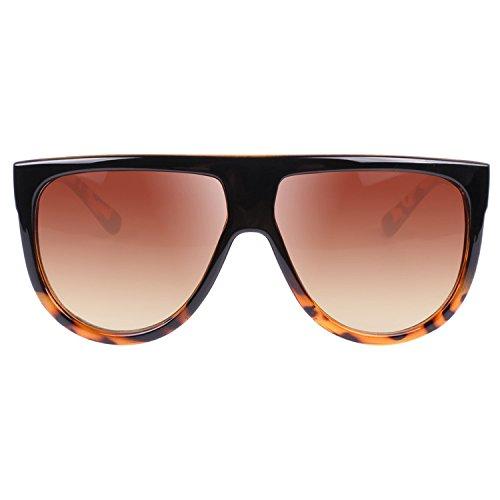f641ddcdb delicate VIVIENFANG Large Oversized Flat Top Teardrop Frame Aviator  Sunglasses P1835