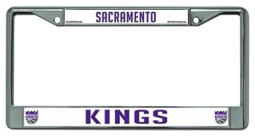 NBA Sacramento Kings Chrome Plate Frame by Rico