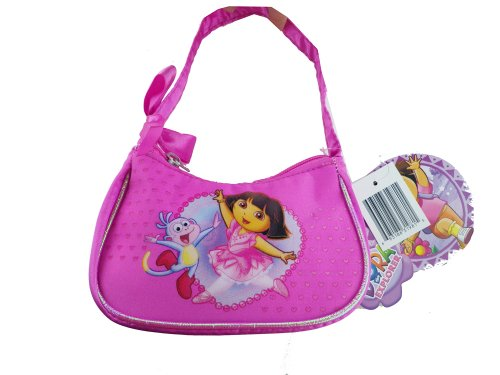 - Mini Size Pink Dora the Explorer Handbag - Dora the Explorer Cosmetic Bag