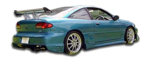 - Duraflex ED-VRL-288 Drifter Rear Bumper Cover - 1 Piece Body Kit - Compatible For Chevrolet Cavalier 1995-2002