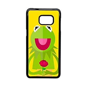 Generic for Samsung Galaxy S5 Edge Cell Phone Case Black Muppets Kermit Custom HLFDKFFKD1989