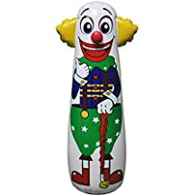 "16""L x 18""W x 52""H Inflatable Clown Punching Bag, inflatable Toys,Stuffed Toys,indoor and Outdoor Play"
