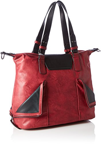Bag Q0472 wine schwarz Red Shoulder Women's Remonte wfBqaHO
