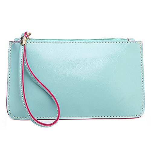 mk. park - Women Lady Wallet Purse ID Card Phone Holder Coin Bag Clutch Handbag Wondrous (Sky - Coupon Speedy Metals