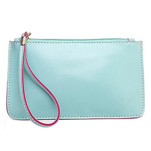 mk. park - Women Lady Wallet Purse ID Card Phone Holder Coin Bag Clutch Handbag Wondrous (Sky - Coupons Outlet Factory Card