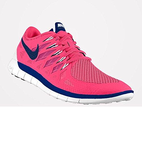Nike Free 5.0, Women's Running Shoes Pink/Blue/White