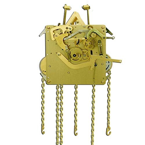 Qwirly Store: Grandfather Clock Movement by Hermle 451-053 DBL with 75, 85, and 94 cm Gearing (85 cm)