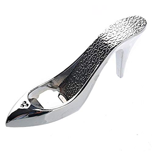 (Twinlight Bottle Opener Creative Multifunction Stainless Steel Can Opener Beer High-heel Shoe-Shaped Bottle Opener Wedding Party Favor Kitchen Tool )