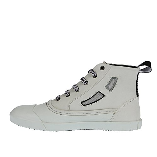Lanvin Sneaker Bianca in Gomma E Pelle - 41