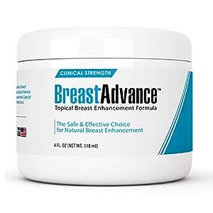 Breast Advance Natural Bust Enlargement/Enhancement Cream, 4 Fluid Ounce