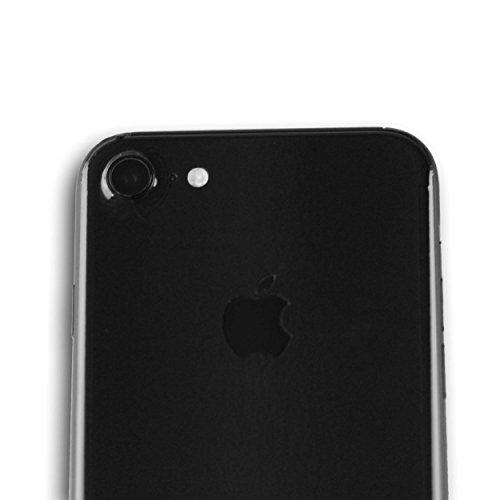 AppSkins Vorderseite iPhone 7- Brilliant Diamantschwarz/ jet black
