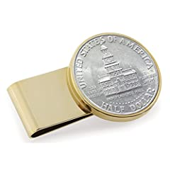 Are you looking for a great collectible item or memorable gift that brings a love of country and meaningful history of the past? Here it is!  🦅 Introducing the American Coin Treasures JFK Bicentennial Half Dollar Coin Money Clip . It is made ...