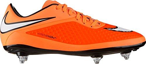 Nike Hypervenom Phelon SG Fussballschuhe hyper crimson-white-atomic orange-black - 40,5
