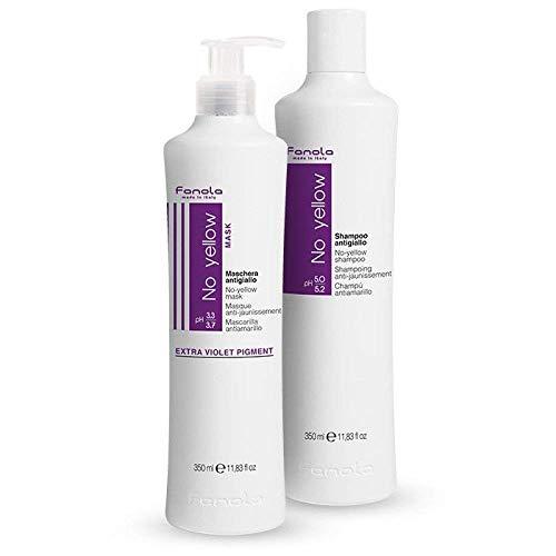 (Fanola No Yellow Shampoo & Mask, 350 ml)