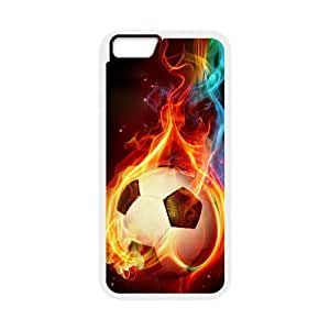 "ALICASE Diy Hard Shell Cover Case Of Football for iPhone 6 Plus (5.5"") [Pattern-1]"