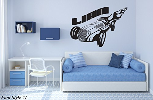 Wall Vinyl Decal Put Your Name Create Custom Personalized Boy