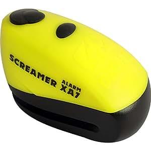 Oxford XA7 Screamer Alarm Disc Lock Motorcycle Brake Disc Lock Alarmed LK280