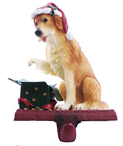 Labrador Retriever Dog Christmas Holiday Pet Stocking Holder