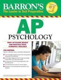 Read Online Barron's AP Psychology 5th (fifth) edition ebook