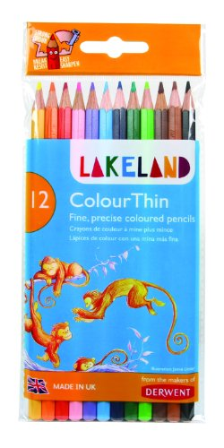 Derwent Colored Pencils Lakeland Colorthin product image