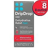 DripDrop ORS Electrolyte Hydration Powder Sticks Watermelon Flavor Makes 8 8oz Servings