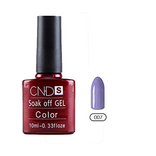 Nail Art,Vanvler Nail Gel Polish UV&LED Shining Colorful 10ML Long Lasting Soak Off Varnish Cheap Manicure - Nude 007