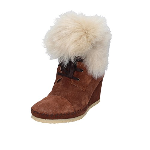 Ankle 36 Brown EU Boots Suede Womens MUSE 5 47TzT