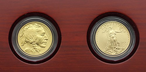 2008 W 8-8-08 Prosperity Set Eagle & Buffalo (Uncirculated Gold Buffalo)